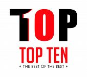 Top Ten - List Of Bestsellers - The Best Of The Best Concept poster
