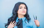 Professional Makeup Artist. Cosmetic Tweezer Tool. Beauty Shop Concept. Makeup False Lashes Volume.  poster