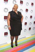 LOS ANGELES - APR 12:  Frenchie Davis arrives at Warner Brothers