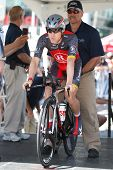 LOS ANGELES - MAY 22: Levi Leipheimer of team Radio Shack during stage 7 of the Amgen Tour of Califo