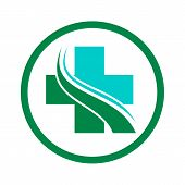Medical Logo, Medical Center Logo,heart Logo, Health Logo, Doctor Logo, Medicine Logo, Medical Icon. poster