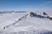 Slopes In The Ski Resort Kitzsteinhorn, Austria