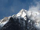 Peak Of The Langtang Range