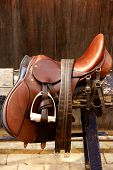 Horse Riders Complements, Rigs, Mounts, Leather Over Wood