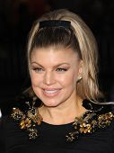 LOS ANGELES - FEB 05:  Fergie arrives to the 'Safe Haven' Hollywood Premiere  on February 05, 2013 i