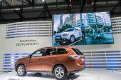 Mitsubishi Outlander On Display At 82nd Geneva International Motor Show