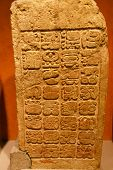 Mayan Bas-Relief Stele