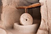 millstone in Cappadocia