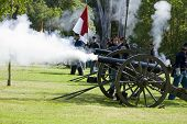 Huntington Beach Civil War Re-Enactment Union Artillery