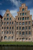 Salt Warehouse In Lubeck