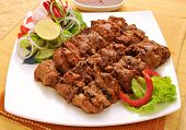 stock photo of kababs  - Fresh - JPG