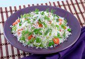 Capsicum & Carrot Rice