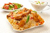 Chicken Biryani-E