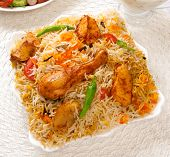 Chicken Biryani-C