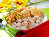 picture of bangla  - Delicious Mix Chat including chic peas - JPG
