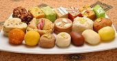 foto of mithai  - A group of delicious - JPG