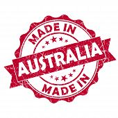Made In Australia Grunge Seal