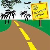 Vacation ahead