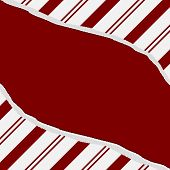 pic of candy cane border  - Red Candy Cane Christmas Torn Background for your message or invitation with copy - JPG