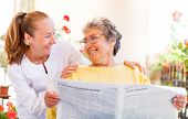 stock photo of handicap  - Find the right home care services for your loved - JPG