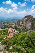 The Holy Monastery of Rousanou (St. Barbara) at Meteora, Trikala region in Greece