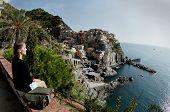 Looking at Cinque Terre