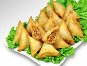 pic of samosa  - delicious - JPG
