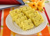 stock photo of barfi  - Delicious - JPG