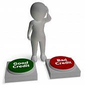 Good Bad Credit Shows Rating