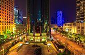 Brilliantly Illuminated In Shanghai