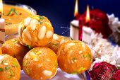 Laddoo with Lot of Nuts