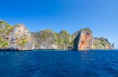 stock photo of koh phi-phi  - Koh Phi Phi National Park in Krabi Thailand