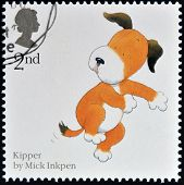 UNITED KINGDOM - CIRCA 2006: A stamp printed in Great Britain shows Mark Inkpen's 'Kipper'