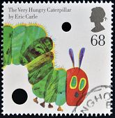 stamp of The Very Hungry Caterpillar