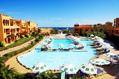 Sharm El Sheikh, Egypt -  November 28: The Tourists Are On Vacation At Popular Hotel On November 28,