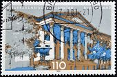 GERMANY - CIRCA 2000: A stamp printed in Germany shows Landtag of Lower Saxony circa 2000