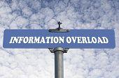 Information overload road sign