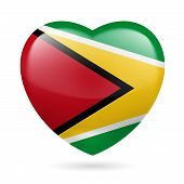 Heart icon of Guyana