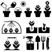 set agrotechnics icons