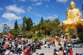 People Go To Pagoda