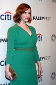 LOS ANGELES - MAR 21:  Christina Hendricks at the PaleyFEST 2014 -