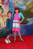 LOS ANGELES - MAR 22:  Aubrey Anderson-Emmons, Chloe Noelle at the Pirate Fairy Movie Premiere at Wa