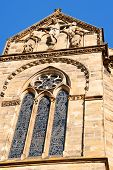 picture of reign  - Detail of Trier Cathedral or Dom St - JPG