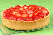 Strawberry And Custard Tart