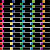 Colorful illusion background