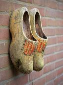 Old dutch clogs