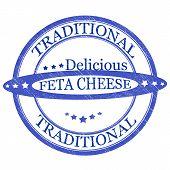 Traditional feta cheese