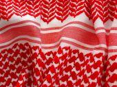 Oriental, bedouin like background. Arab keffiyah pattern.