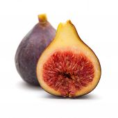 Figs Isolated On White