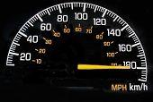 Speedometer 180 Kph